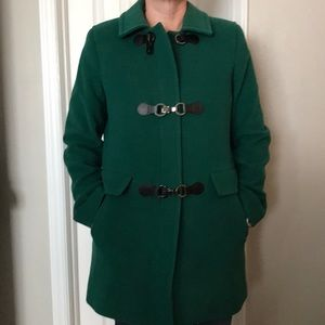 Talbots wool coat